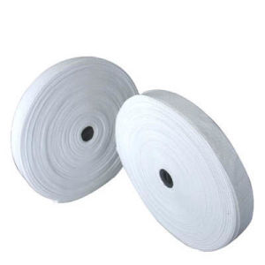White Woven Elastic Tape (xdet-001) pictures & photos