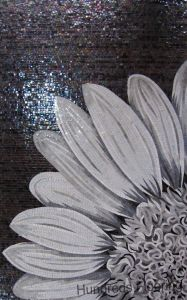 Mural Flower Glass Mosaic Pattern Art Mosaic (HMP739) pictures & photos