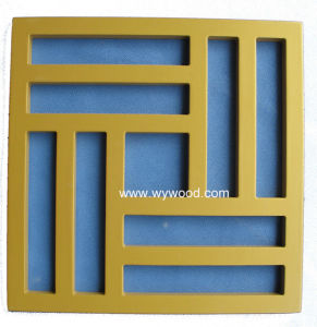 Carved Grille MDF Wooden Decorative Panel (WY-76) pictures & photos