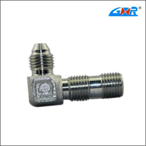 90 Degree JIS Gas Male 60 Degree Cone Bsp Male O-Ring Hose Fitting pictures & photos
