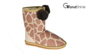 Kids New Arrival Animals Snow Boots Lovely Printed