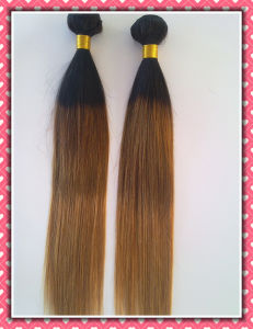 Three Tone Color Unprocessed Virgin Brazilian Hair Extension pictures & photos