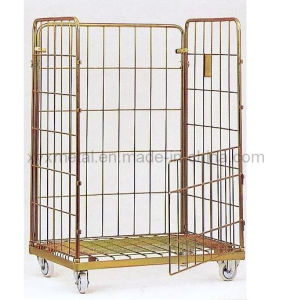 Jumbo Size Roll Container Storage Logistics Hand Cart pictures & photos