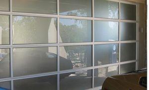 Full View Sectional Door / Full View Aluminum Sectional Door/Panoramic Sectional Door pictures & photos