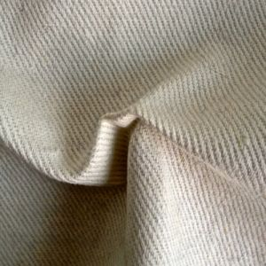 Hemp Organic Cotton Twill Fabric with Best Price (QF13-0085) pictures & photos