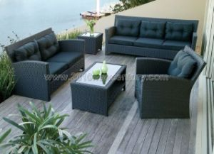 Outdoor / Garden / Patio / Rattan Sofa (NC6076)