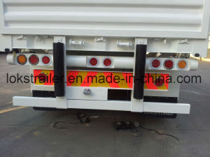 40 Feet 3axle Flatbed with Dropside Semi Trailer pictures & photos