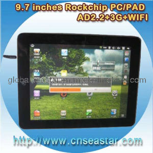 9.7 Inches Resistive Tablet PC 4: 3 Android, CPU Rk2818, 2GB, WiFi (S-MID90VK)