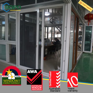 German PVC Sliding Door Window with Security Screen pictures & photos