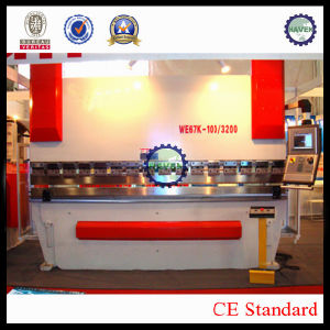 WE67K-100X3200 CNC Electric Hydraulic Synchronization Hydraulic Press Brake pictures & photos