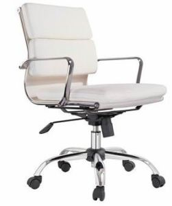 Rotary White Leather Office Chair (80084-1) pictures & photos