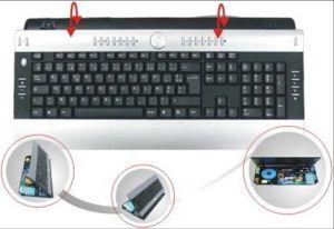 Ergonomic Wired Keyboard (CULK806)