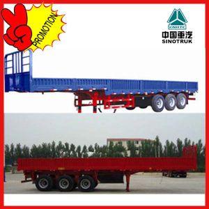 Hot Sale Three Axles 13m Cargo Semi Trailer