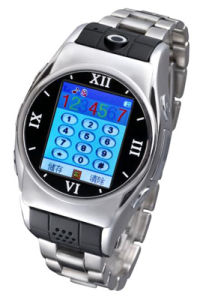 Wholely Stainsteel Watch Mobile Phone (MW08)