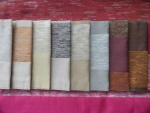 Polyester & Viscose Jacquard Imitating Silk Sofa Fabric for Textile