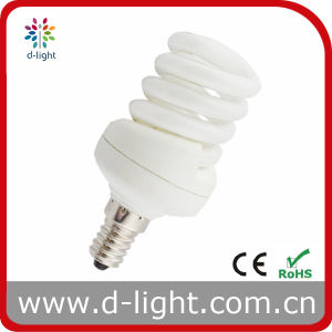 11W 13W T2 Mini Spiral Compact Fluorescent Lamp pictures & photos
