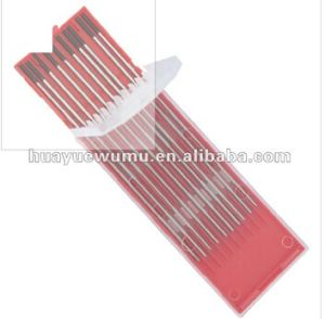Hue Ye Tungsten Electrode -1% Lanthanated Tungsten Electrode pictures & photos