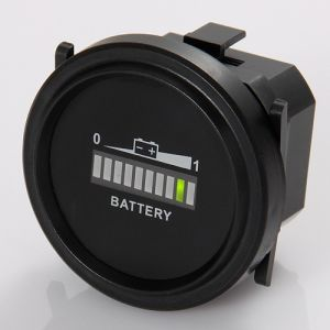 Round Battery Indicator for Electric Vehicle Truck Forklift