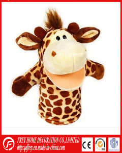 Hot Sale Plush Giraffe Hand Puppet Toy with CE pictures & photos