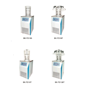 Vertical Type Freeze Dryer Machine with Drying Bottles Bk-Fd18p pictures & photos
