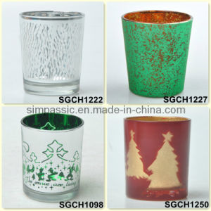 Galvanized Candle Holder / Electroplating Tealight Holder pictures & photos