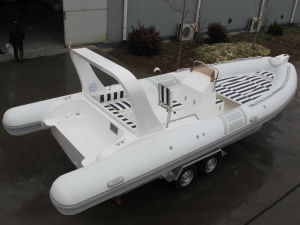 Rigid Inflatable Boat Rib 730B with Twin Engine - Very Hot pictures & photos