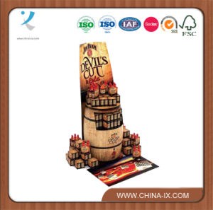 Wood Material Snack Food Display Rack pictures & photos