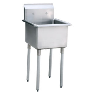 One Compartment Sink Without Drainboard - 3