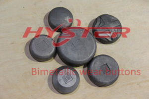 700bhn 63HRC Laminated Wear Parts Wear Button pictures & photos