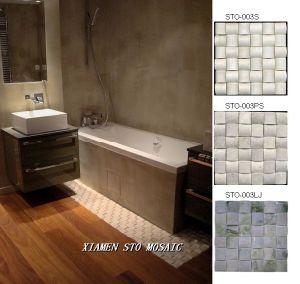 3 D Marble Mosaic-As Bathroom Floor