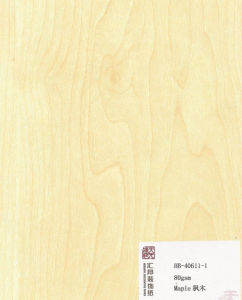 Maple Melamine Paper (HB-40611-1) pictures & photos
