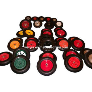 Various Kinds High Quality Pneumatic Rubber Wheel