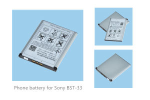 Rechargeable Phone Battery for Sony-Er Bst-33 K790