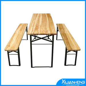 Promotion Wooden Beer Table Set pictures & photos