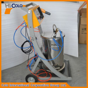 Manual 800d Intelligent Powder Coating System with Big Cart pictures & photos