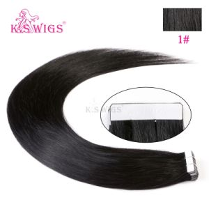 Wholesale Hair Extension Human Virgin Remy Tape in Hair pictures & photos