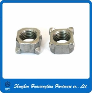 DIN 928 M6 Stainless and Carbon Steel Square Weld Nut pictures & photos