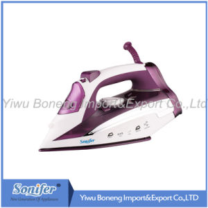 Travelling Steam Iron Sf-9003 Electric Iron with Ceramic Soleplate (Purple)