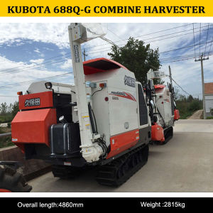 2015 Hot Sale High Quality of Kubota 688q-G Combine Harvester pictures & photos