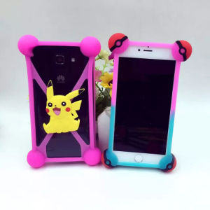 Universal Pokemon Pokeball Pikachu Silicone Mobile Phone Cases