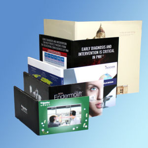 Hot Selling Paper Thin LCD 5.0 Inch Video Card pictures & photos