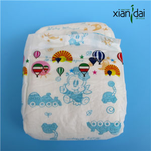 Disposable Baby Diaper with Super Absorbent Core