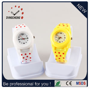 New Style Wristwatch Silicone Watch Quartz Watch for Kid Watch (DC-SZ152) pictures & photos