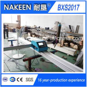 Portable Plasma/Flame CNC Cutting Machine From China Nakeen pictures & photos