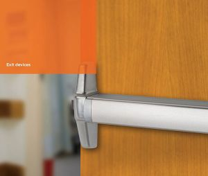 UL Listed Stainless Steel Panic Exit Device (EED-001)