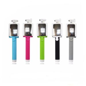 Hot Seller Portable Dk-012 Wireless Foldable Holder Selfie Stick with Mirror.