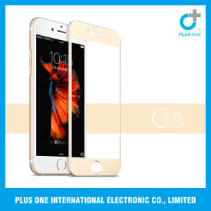 2.5D Titanium Alloy Full Cover Screen Protector for iPhone 6+/6s+ pictures & photos