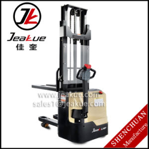 2015 Newest 1.0t - 1.2t Double Lift Electric Stacker pictures & photos