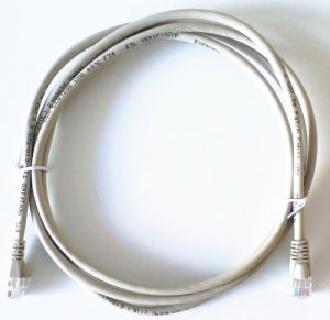 Cat5e RJ45 Ethernet Patch Cord Cable Compatible with Poe Connections pictures & photos