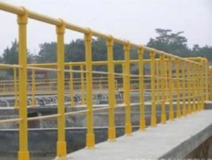 FRP Handrail/Building Material/Fiberglass Ladder/Fence Ladder pictures & photos